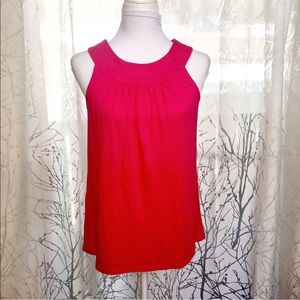 Express pink sleeveless top